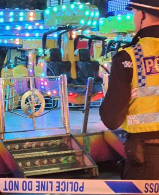 Woman injured falling from Hull Fair ride