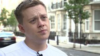Owen Jones assault: Three men charged