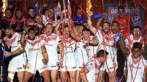 St Helens beat Salford in Grand Final for seventh title