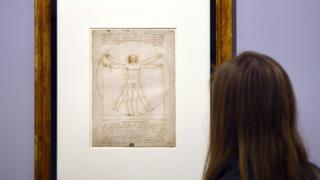 Vitruvian Man: Da Vinci piece to go on display in Louvre