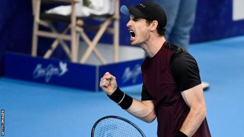 Murray wins first singles title since career-saving surgery