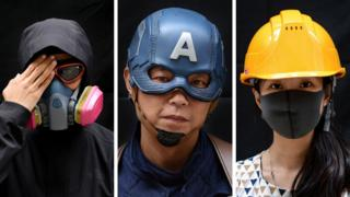 Picture power: Masked protest on the streets