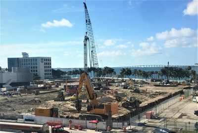 ASAP Installations now at work at the Royal Caribbean Corporate Headquarters project currently under construction at the Port of Miami
