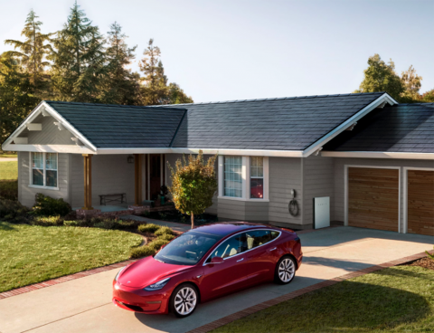 Tesla reveals the latest version of its solar roof, aims for 1,000 installations per week within a few months (TSLA)