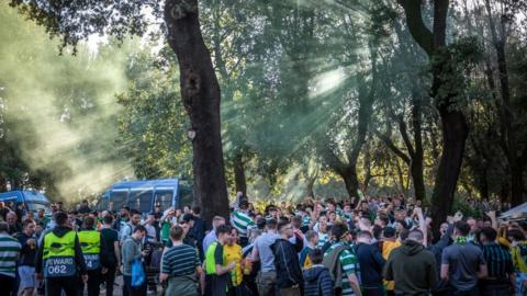 Third Celtic fan stabbed in Rome after win over Lazio
