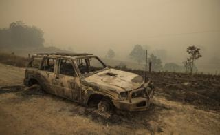 Australia bushfires: Latest images from New South Wales