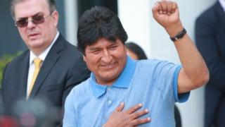 Bolivia crisis: Evo Morales says he fled as life was at risk