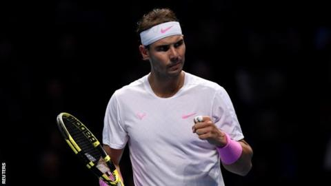 Nadal saves match point before beating Medvedev to boost ATP Finals hopes