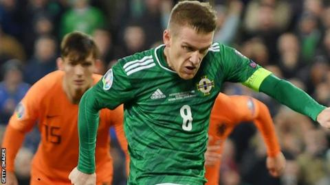 Play-offs for Northern Ireland after draw against Dutch in Belfast