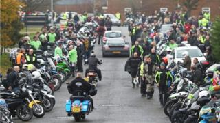Harry Dunn biker death: Riders remember crash victim