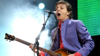 Sir Paul McCartney to headline Glastonbury