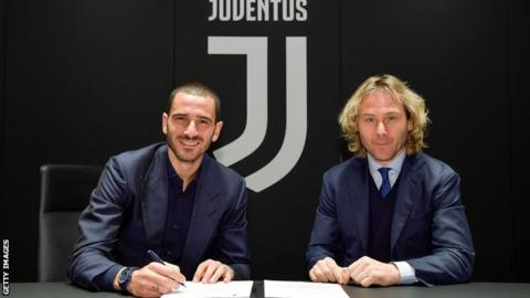Bonucci signs new Juventus deal to 2024