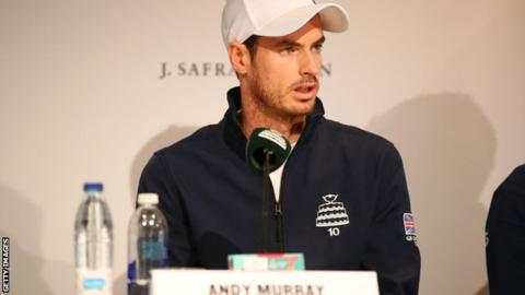 Murray cautious of heavy Davis Cup workload