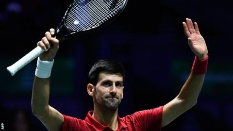 Davis Cup finals 2019: Novak Djokovic helps take Serbia into last eight