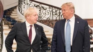 General election 2019: Boris Johnson warns Donald Trump against election endorsement
