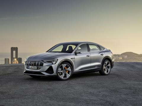 "Audi's next all-electric vehicle, the e-tron Sportback, is a ""coupe"" SUV"
