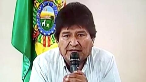 Bolivia crisis: Morales accused of terrorism and sedition
