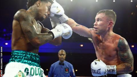 Carl Frampton beats Tyler McCreary in unanimous win