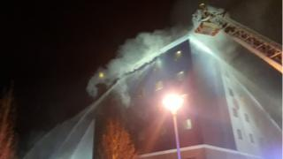 100 firefighters tackling Brentford Travelodge blaze
