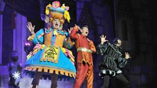 Peter Pan pantomime stars say it is