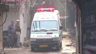 Delhi factory fire: More than 35 dead in India blaze