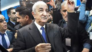 Algeria election: Ex-PM to replace Bouteflika after boycotted poll