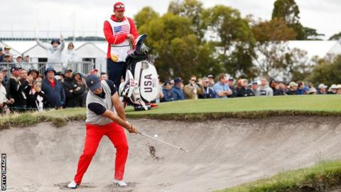 Presidents Cup: Patrick Reed
