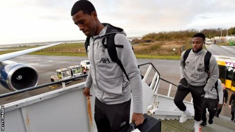 Wijnaldum in, Lovren out - Liverpool confirm Club World Cup squad