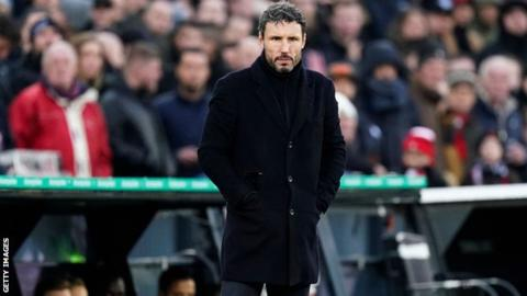 Mark van Bommel: PSV Eindhoven sack manager after 18 months in charge