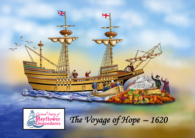 Mayflower Society Float In Annual Tournament Of Roses® Parade Kicks Off Year-Long 400th Anniversary Commemoration Of The Voyage Of The Mayflower