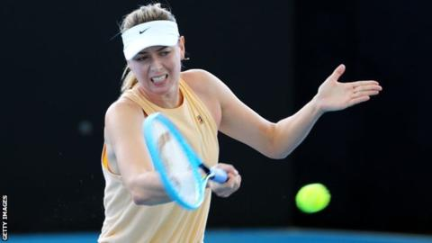 Sharapova to play in Brisbane after injury-hit 2019