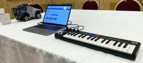 Why AWS is selling a MIDI keyboard to teach machine learning