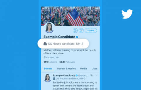 Twitter is bringing back Election Labels to identify 2020 U.S. election candidates