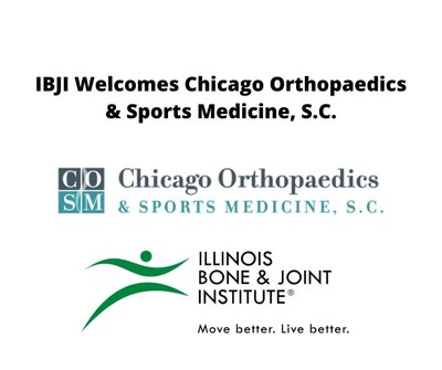 Chicago Orthopaedics & Sports Medicine, S.C. Joins Illinois Bone & Joint Institute