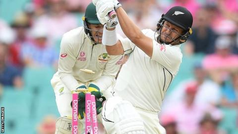 Australia v New Zealand: Nathan Lyon takes five as hosts dominate again