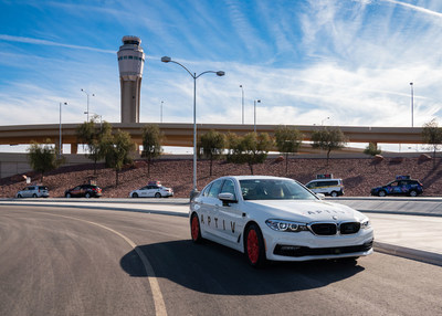 Aptiv Self-Driving Vehicles Now Arriving at McCarran International Airport