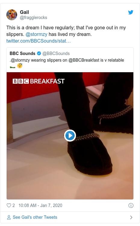 Stormzy visits BBC Breakfast in his slippers