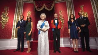 Prince Harry and Meghan: Madame Tussauds moves wax figures from Royals