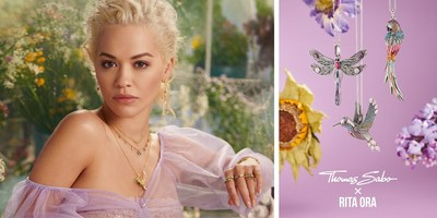 Magic Garden by THOMAS SABO - Spring/Summer Collection 2020 Inspired by the Highest Level of Craftsmanship and Rita Ora as the Face of the Campaign
