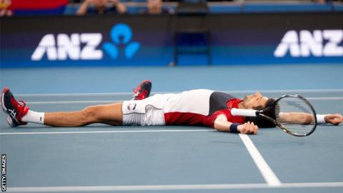 ATP Cup: Novak Djokovic beats Daniil Medvedev to put Serbia into final