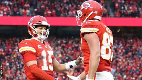 Chiefs fight back to beat Titans and reach AFC Championship game
