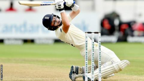 Pope and Stokes centuries put England on top against South Africa