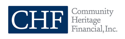 Community Heritage Financial, Inc. Announces a 33% Increase in Quarterly Cash Dividend