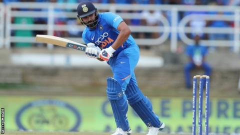 India v Australia: Rohit Sharma century leads hosts to ODI series win