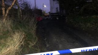 Ffair Rhos: Boy, 4, critical after fire killed brother in caravan