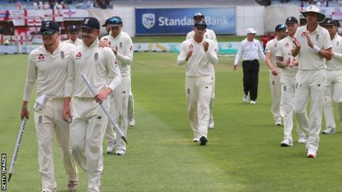England in South Africa: Tourists win by an innings in Port Elizabeth
