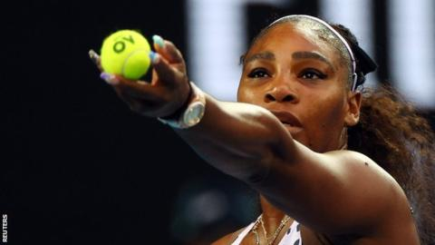 Serena Williams makes Australian Open third round with straight-set win