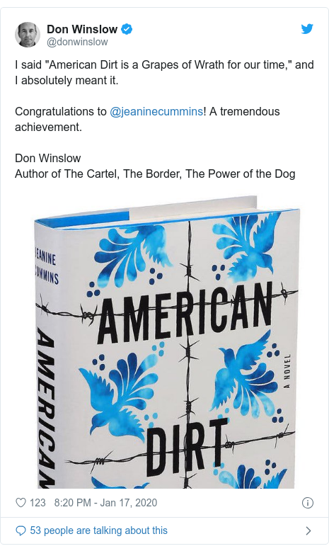 American Dirt: Oprah book club pick suffers Latino backlash