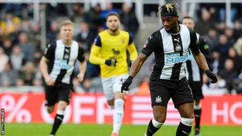 League One Oxford draw at Newcastle to earn FA Cup replay