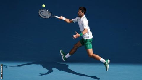 Australian Open: Novak Djokovic to face Milos Raonic in quarter-finals